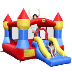 Castel gonflabil cu tobogan - Castle Bouncer with Slide - Gonflabile Happy Hop