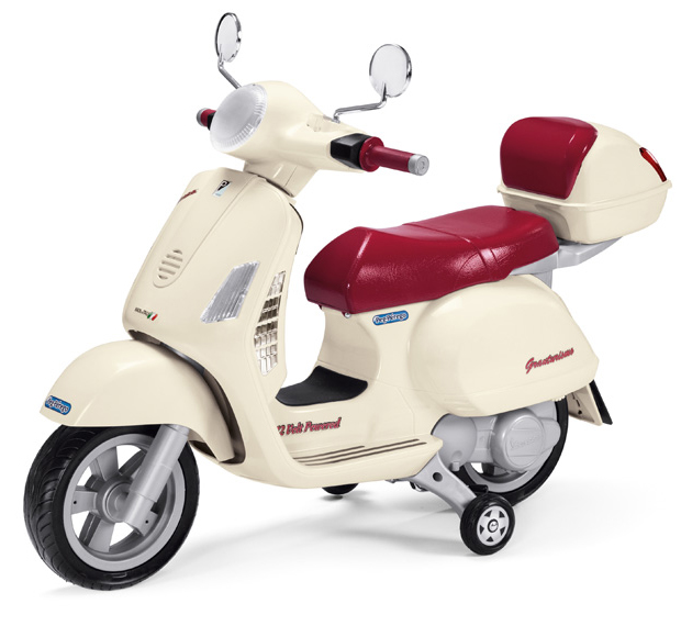 Vespa 12V Scopter for kids by Peg Perego